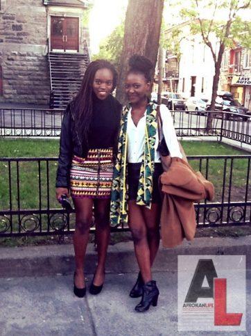 Larissa and Wallys Montréal Black Fashion Week