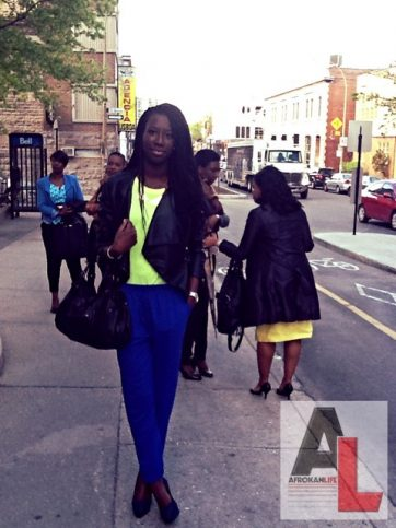 Mame Montreal Street Style Black Fashion Week