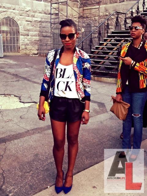 Stephanie Montreal Black Fashion Week