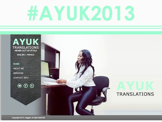ayuk website