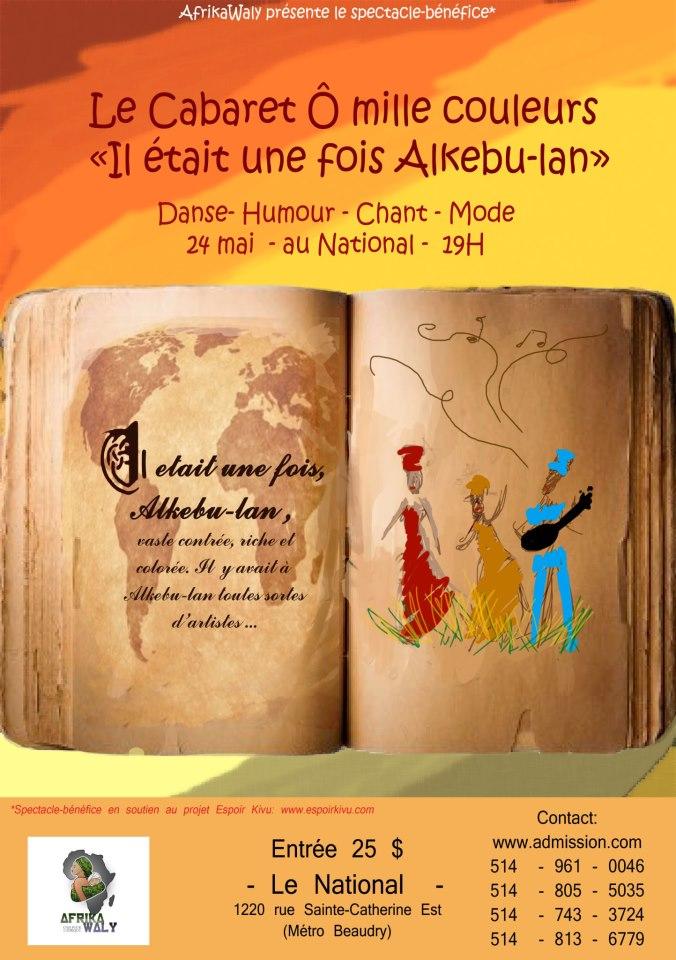 Concours 3ème édition du Cabaret Ô Mille Couleurs
