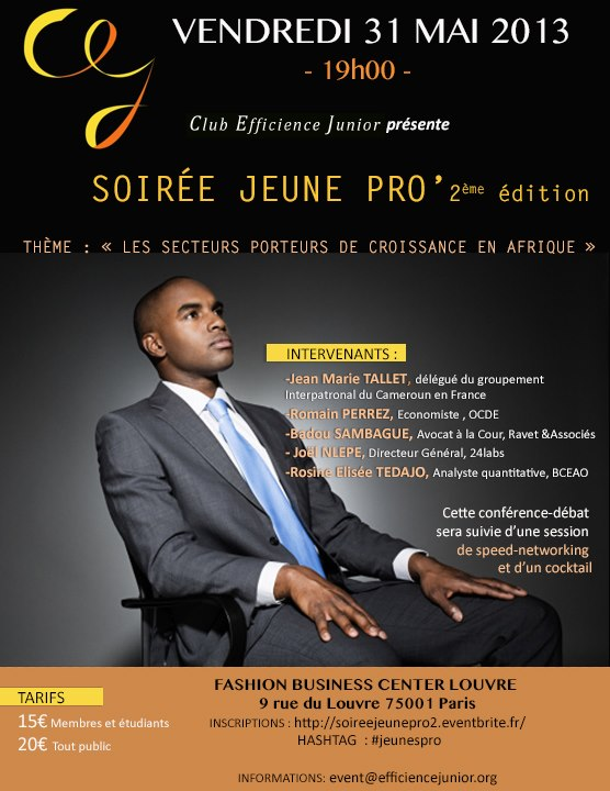 Concours Club Efficience Junior Soiree Jeune Pro du 31 mai