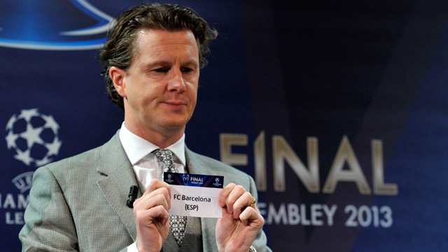 Barcelona satisfied with Beckham's PSG in Champions League draw - video