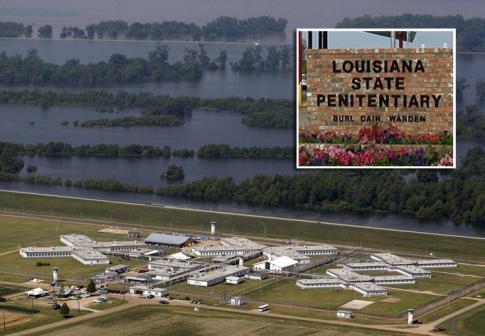 Le centre pénitentiaire de Louisiane appelée prison d'Angola ©Courrier International