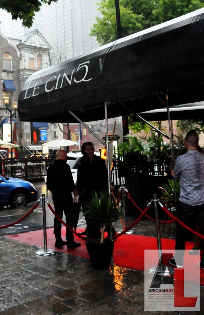 Le Paris de Montreal. The new restaurant hot spot at 1234 Rue de La Montagne.
