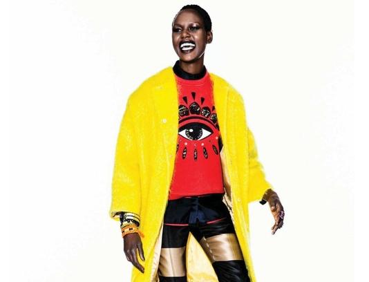Ajak Deng à l'affiche de Vogue Netherlands Septembre 2013