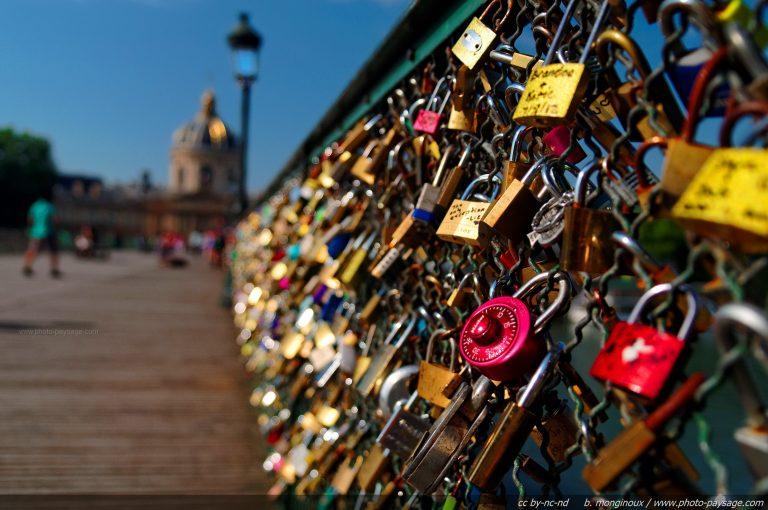 Sortir à Paris : Le pont des Arts