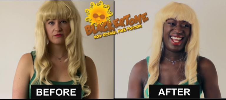 Blackertone : pour les Blanches qui veulent bien bronzer