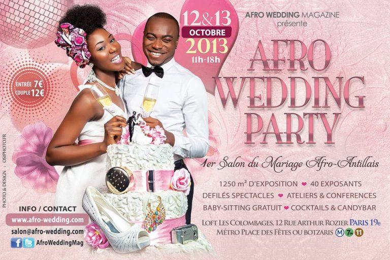 Gagnez 2 places pour assister à Afro Wedding Party le 12 et 13 octobre à Paris