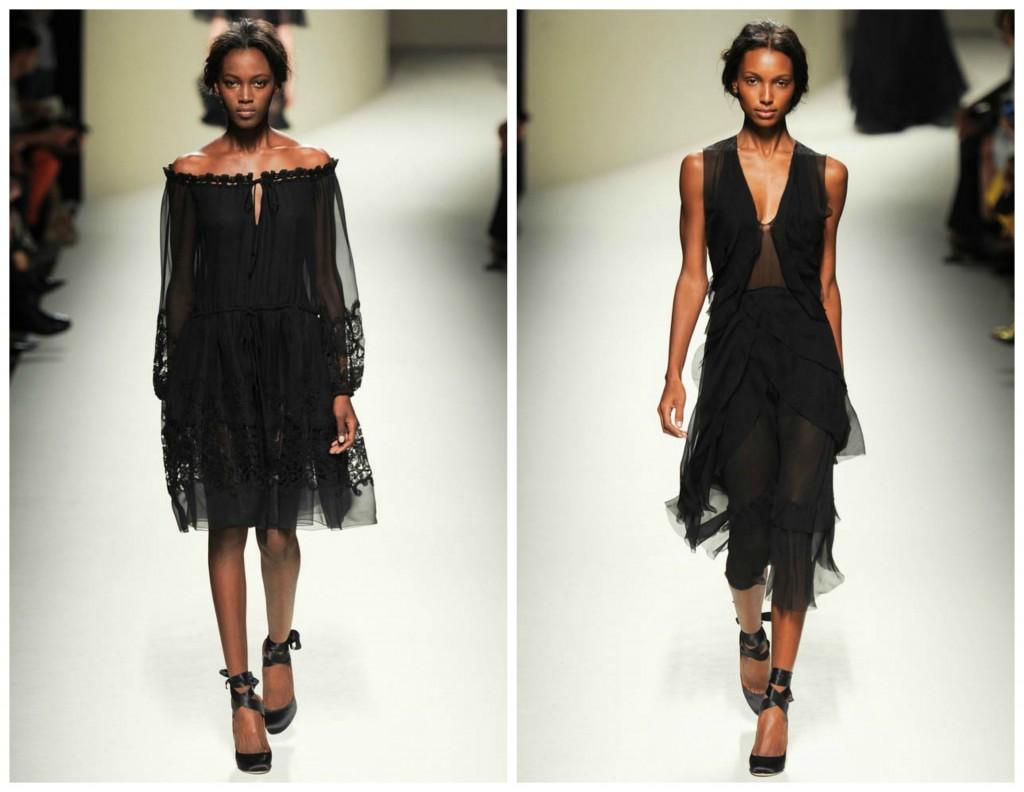 alberta ferretti black models