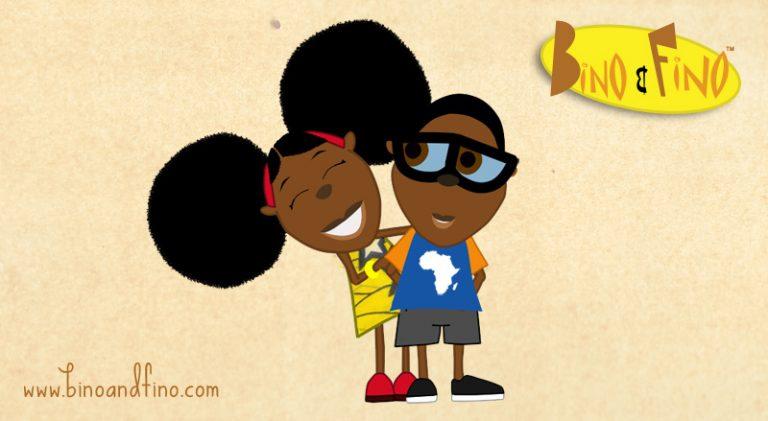 Bino et Fino : Une série d'animation pour la culture africaine