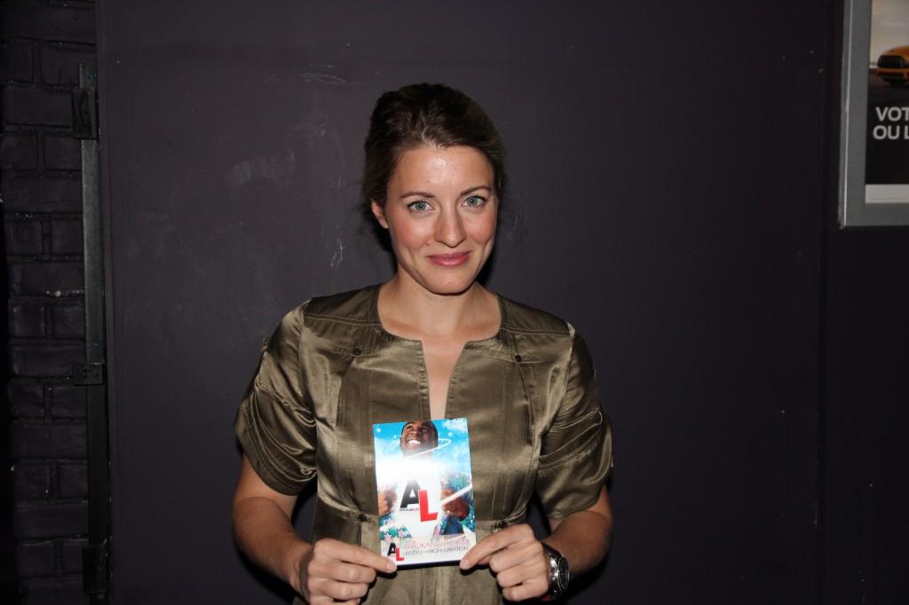 Mélanie Joly au Jeudi APOLLO au CINQ 26 sept 2013