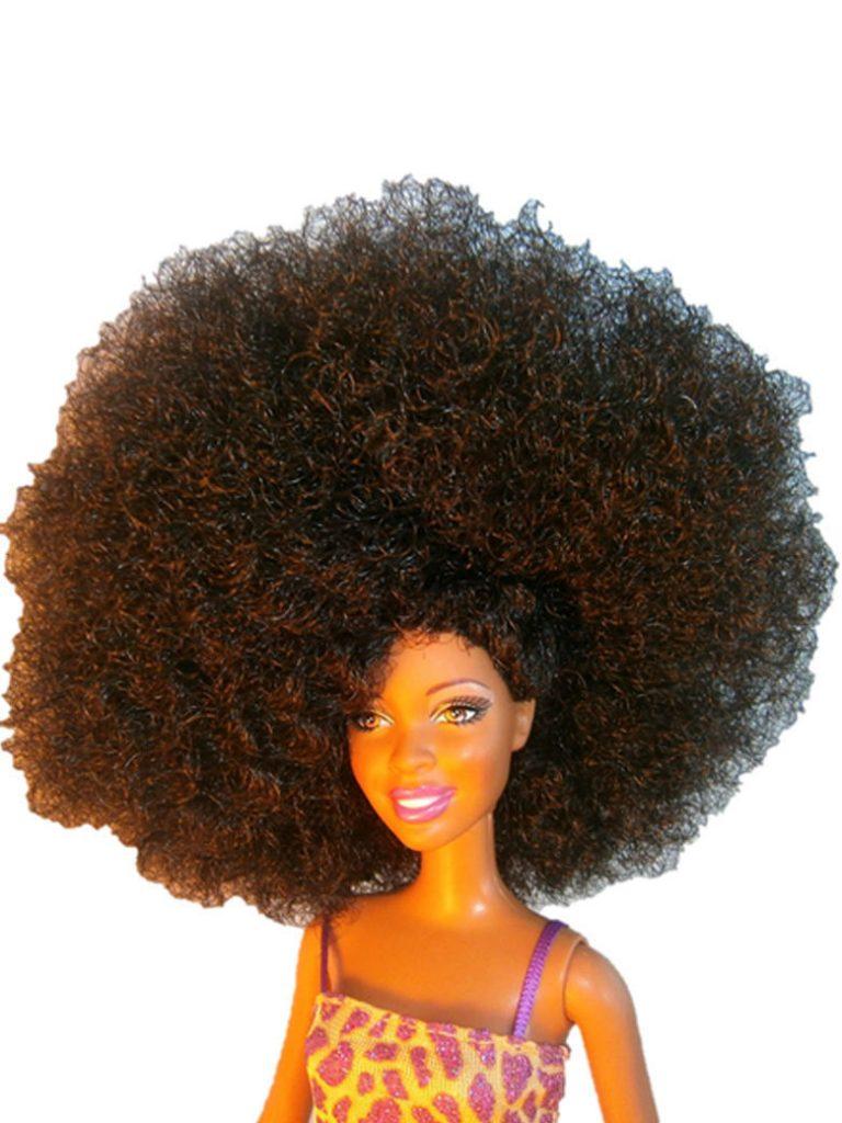 Barbie Noire est morte vive Barbie Afro !