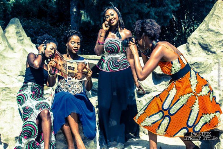 Afro Inspiration : Vanessa Augris, créatrice de mode afropolitaine