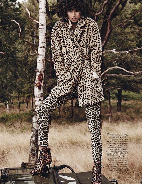 Anais Mali pour Vogue