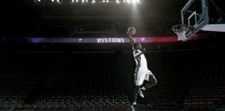 publicité de la NBA