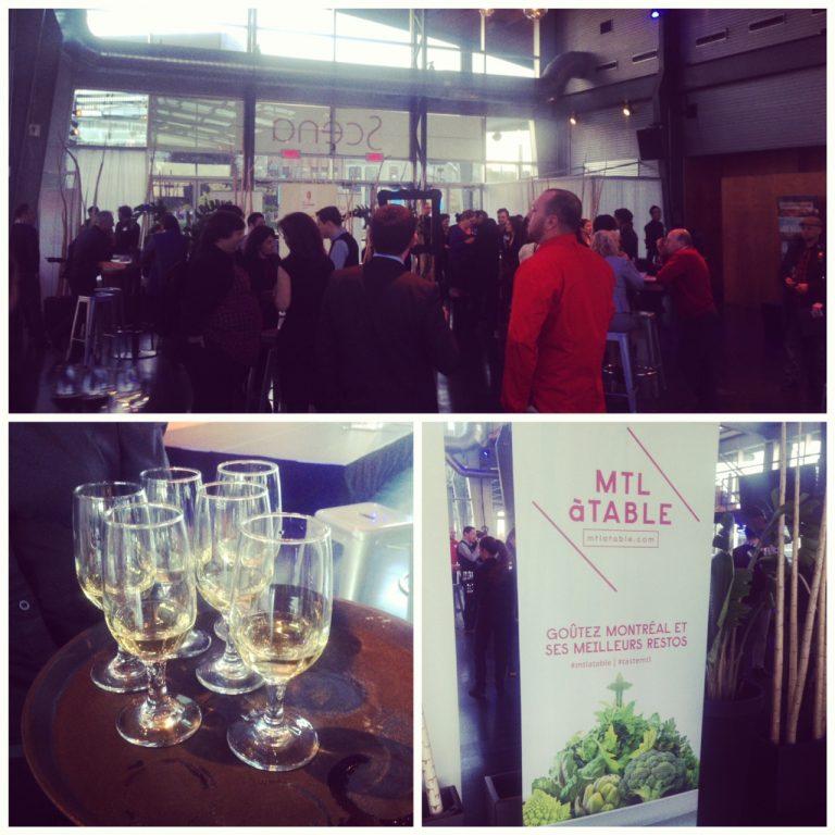 Cocktail de lancement de la 2ème édition de MTL à Table