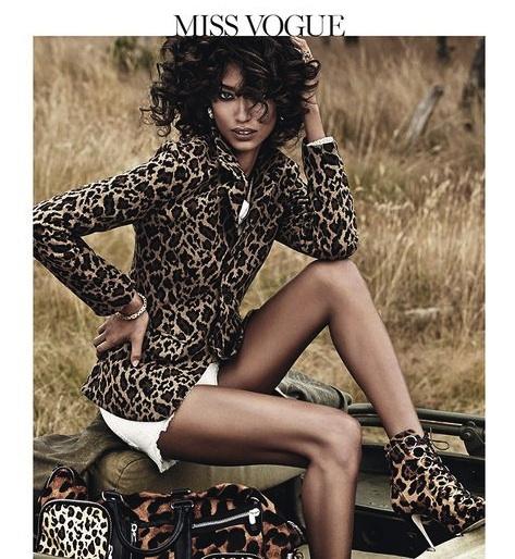 Le shooting d'Anais Mali pour Vogue Paris Novembre 2013