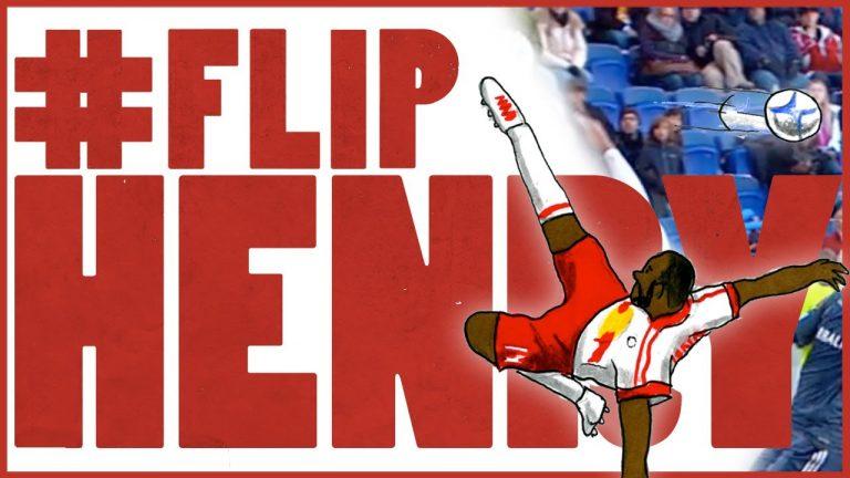 #FlipHenry – Thierry Henry Flipbook