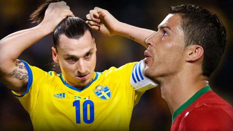 Barrages de la Zone Euro pour la Coupe du Monde : Zlatan vs Ronaldo