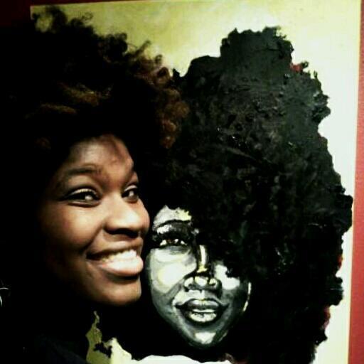 Afro Inspiration : Ashley White, pop art portraitist