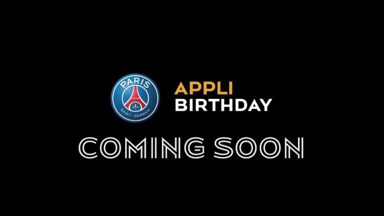 L'appli birthday pour les fans Facebook du Paris Saint-Germain