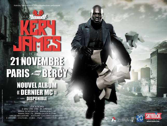 Kery JAmes Bercy