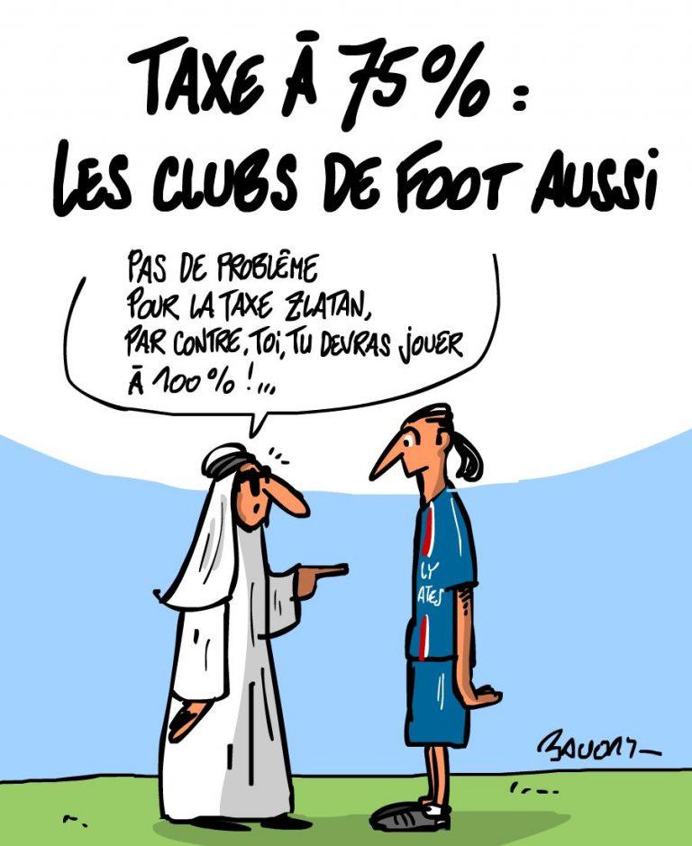 Le football français en grève : un fiasco taxé à 75 % ?