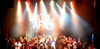 battle afro