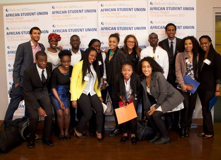 McGill African Students' Society win first place in African Debate