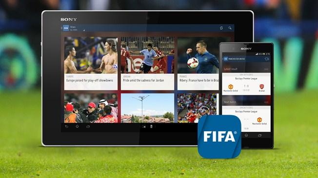 Coupe du Monde 2014 : La FIFA lance ses applications iOS et Android