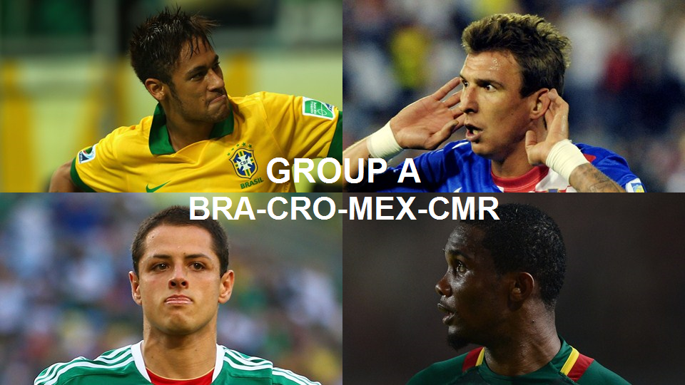 Coupe du monde 2014 groupe a br sil croatie mexique cameroun - Groupes coupe du monde 2014 ...