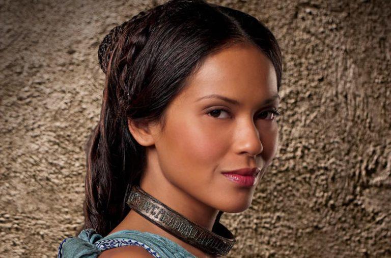 Projecteur sur Lesley Ann Brandt, Naevia de Spartacus