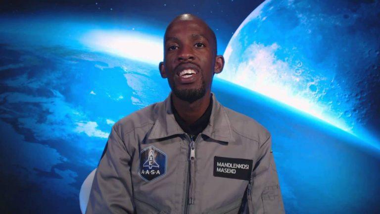 Afro Inspiration : Mandla Maseko, premier Africain noir dans l'espace