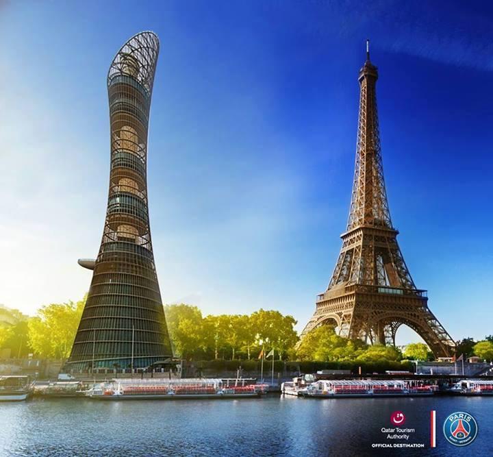 Paris c'est le Qatar (au cas où vous doutiez encore)