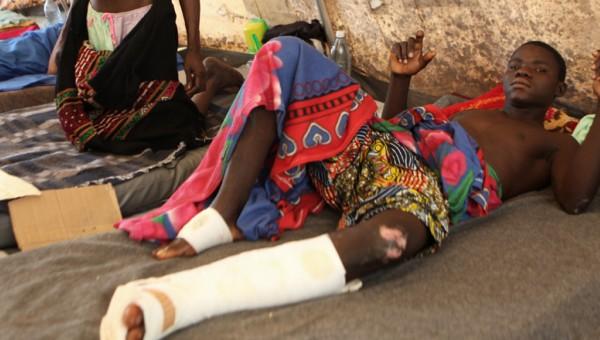 À l'hôpital communautaire de Bangui © Unicef