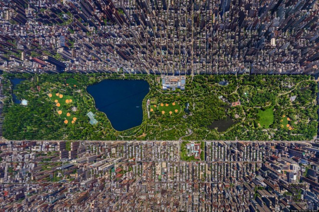 Les plus belles villes vues du ciel