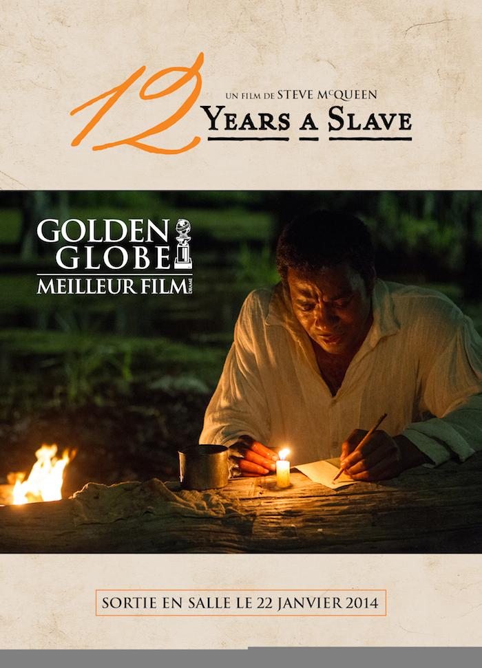 Meilleur film dramatique pour 12 years a slave