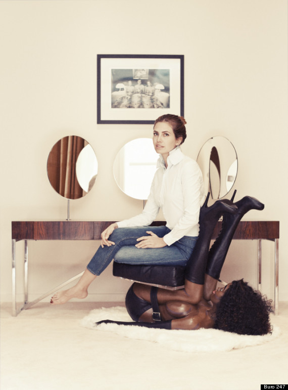 Dasha Zhukova art racisme photo