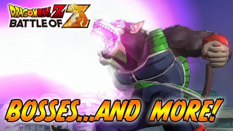 Dragon Ball Z Battle of Z : Les batailles de Boss Géants