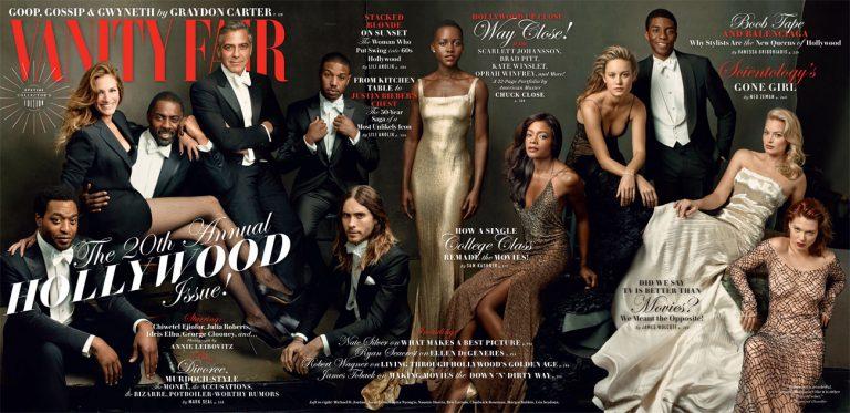 La couverture du Vanity Fair Special Hollywood 2014