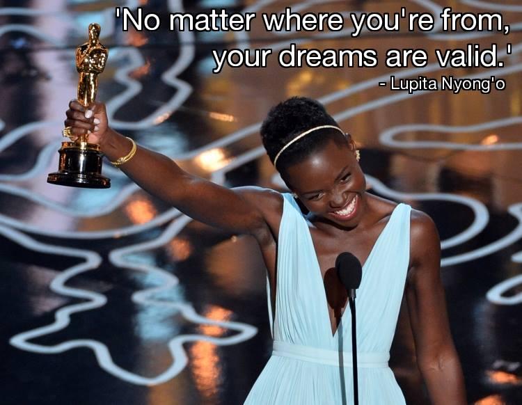 Lupita Nyong'o's speech : Best Supporting Actress Oscar Winner