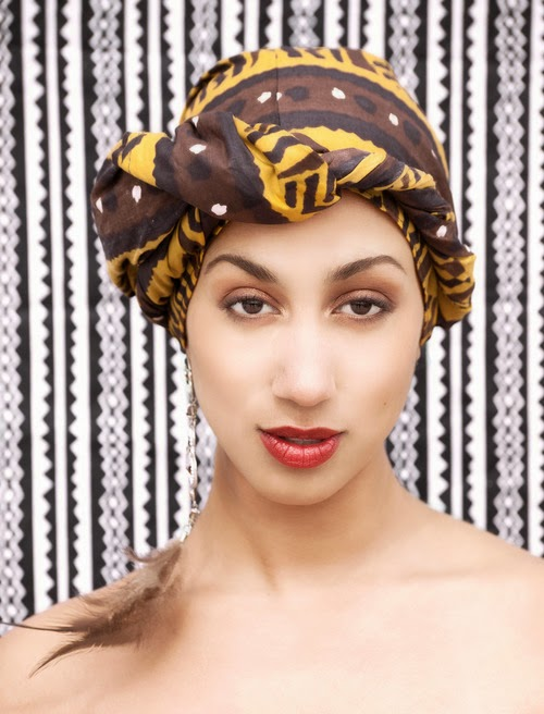 turban wax headwrap