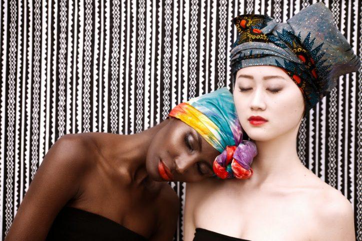 turban wax headwrap turbans afro