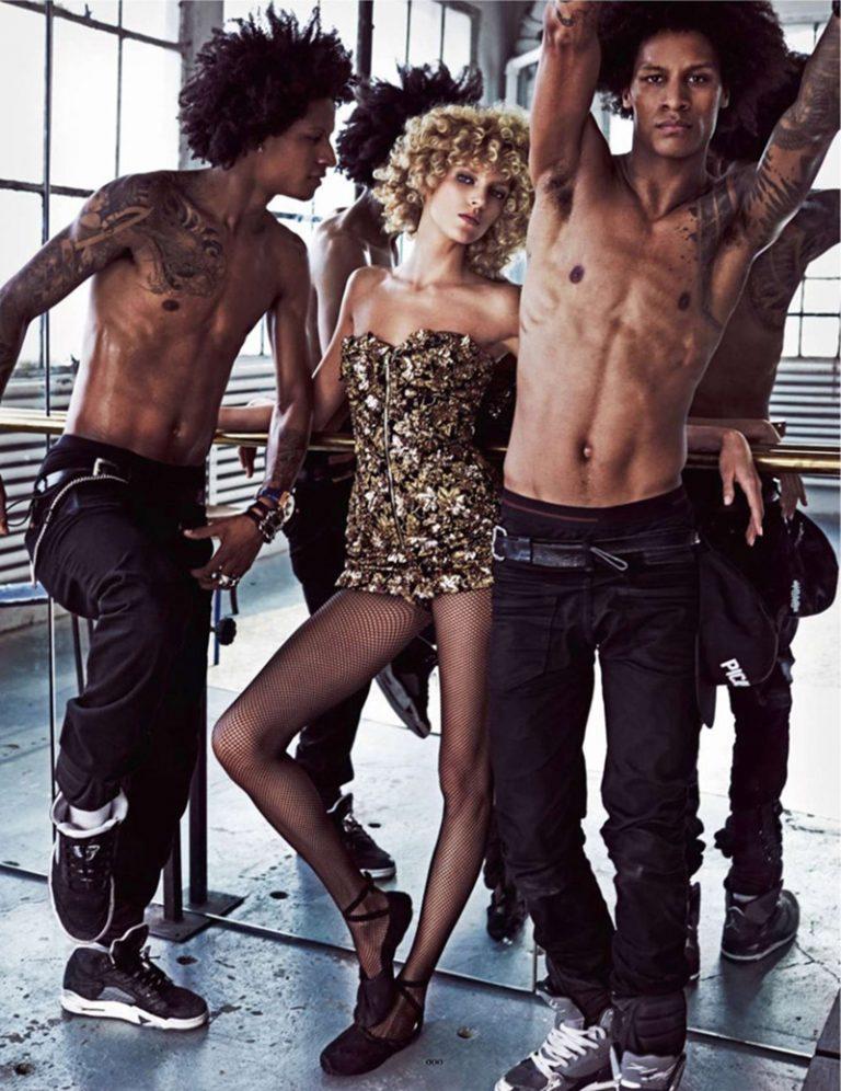 Les Twins prennent la pose pour Vogue Paris de mai 2014