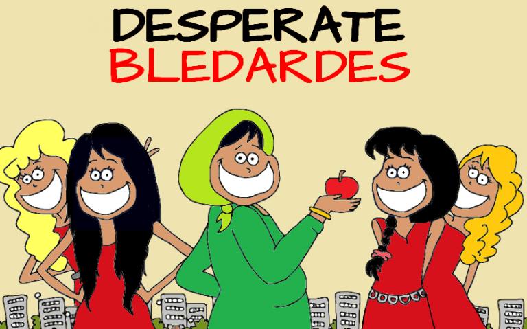 """Afro Inspiration : Maissa et Mayada créatrices de la série """"Desperate Bledardes"""""""