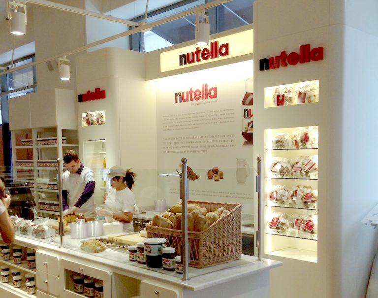 Un Bar Nutella à découvrir chez Eataly à New York