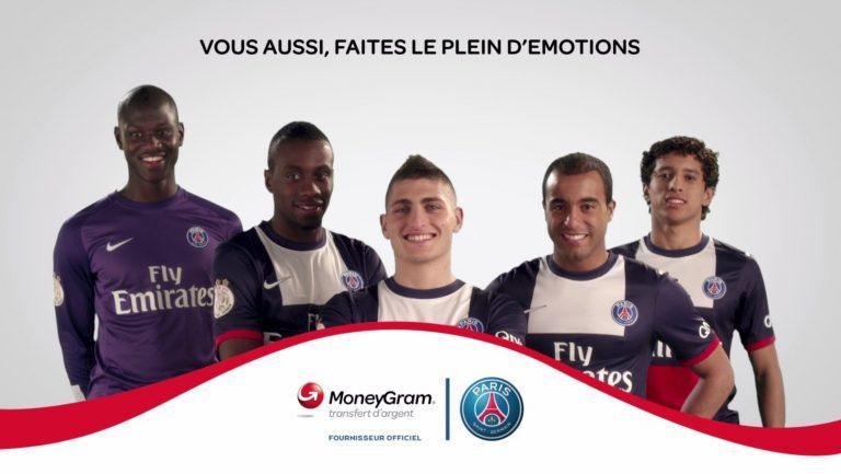PSG, transfert de l'émotion avec son partenaire MoneyGram
