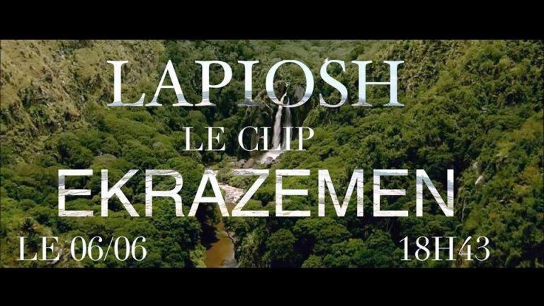 """LAPIOSH présente son clip """"EKRAZEMEN"""" réalisé au CONGO"""