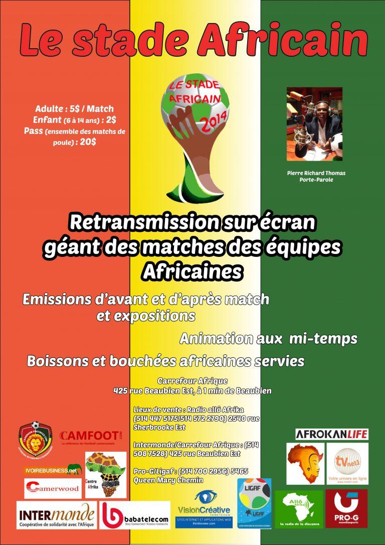 Radio Allô Afrika/Projection des matches des équipes africaines à la Coupe du monde